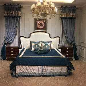 金其利家具 臥室組合 后現代輕奢雙人床實拍